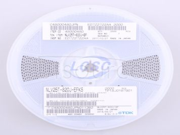 TDK NLV25T-820J-EF(10pcs)