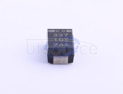 KEMET T520X337M010ATE025