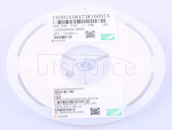 EYANG(Shenzhen Eyang Tech Development) C0201X5R473K160NTA(50pcs)