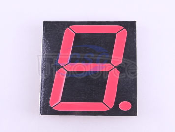 Made in China 5Inch red Red plastic Digital LED