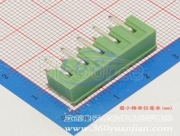 Ningbo Kangnex Elec WJ2EDGRC-5.08-5P(5pcs)