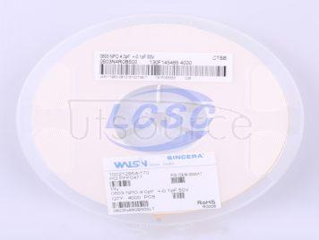 Walsin Tech Corp 0603N4R0B500CT(50pcs)