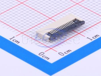 BOOMELE(Boom Precision Elec) FPCConnector 0.5mmpitch 16P Under the next Clamshell(47pcs)