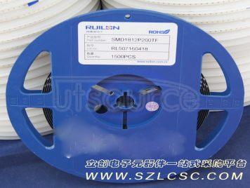 RUILON(Shenzhen Ruilongyuan Elec) SMD1812P200TF(10pcs)