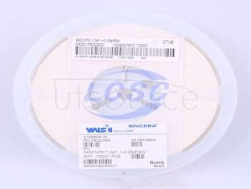 Walsin Tech Corp 0402N1R2C500(100pcs)