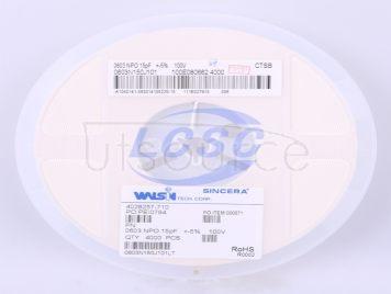 Walsin Tech Corp 0603N150J101CT(50pcs)
