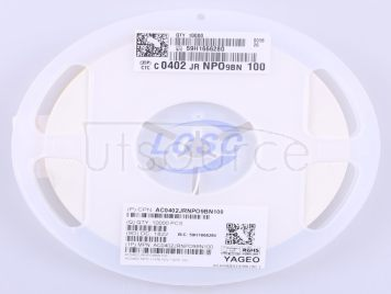 YAGEO AC0402JRNPO9BN100(50pcs)