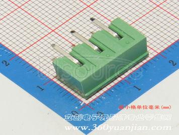 Ningbo Kangnex Elec WJ2EDGRC-5.08-3P(25pcs)
