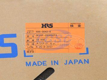 HRS(Hirose)/HRS DF20F-2830SCFA(100pcs)
