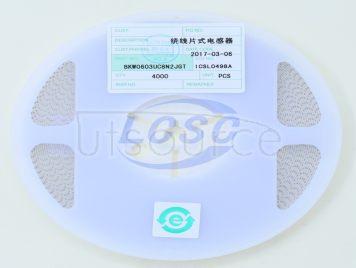FH-BK(Guangdong Fenghua Bangke Elec) BKW0603UC8N2JGT(10pcs)