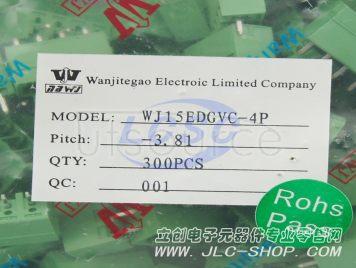 Ningbo Kangnex Elec WJ15EDGVC-3.81-4P(10pcs)