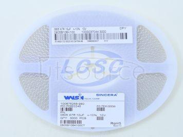 Walsin Tech Corp 0805B106K100(10pcs)