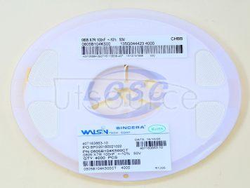 Walsin Tech Corp 0805B104K500CT(50pcs)