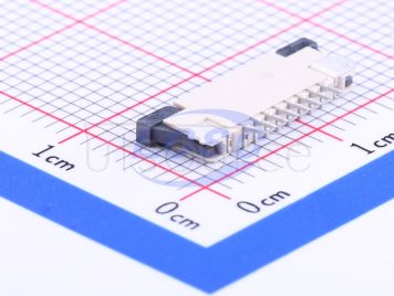 BOOMELE(Boom Precision Elec) FPCConnector 1.0mmpitch 8P Pull type Under the next(19pcs)