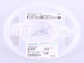 Walsin Tech Corp 0603B152K500(50pcs)