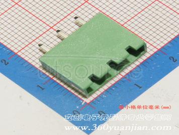 Ningbo Kangnex Elec WJ2EDGVC-5.08-3P(10pcs)