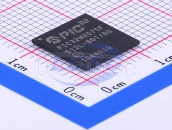 Microchip Tech PIC32MX575F512L-80I/BG