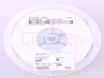 Walsin Tech Corp RF15N8R2C500CT(50pcs)