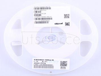 Chilisin Elec CS0402-18NJ-S(10pcs)