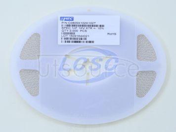 IHHEC(HOLY STONE ENTERPRISE CO., LTD) C0805X102K102T(10pcs)