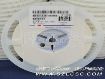 FH(Guangdong Fenghua Advanced Tech) 0402CG2R4C500NT(100pcs)