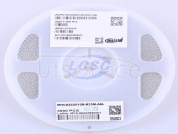 Chilisin Elec MHCD252010B-R33M-A8L(10pcs)