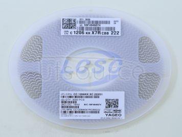 YAGEO CC1206KKX7RCBB222(20pcs)