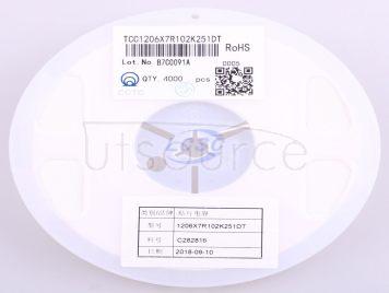 CCTC TCC1206X7R102K251DT(20pcs)