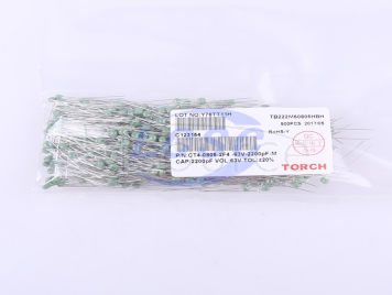 TORCH CT4-0805-2F4-63V-2200pF-M(10pcs)