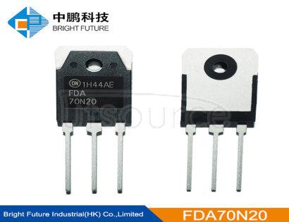 FDA70N20 200V   N-Channel   MOSFET