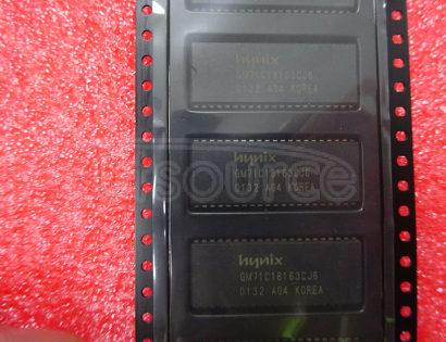 GM71C18163CJ6 IC,DRAM,EDO,1MX16,CMOS,SOJ,42PIN,PLASTIC