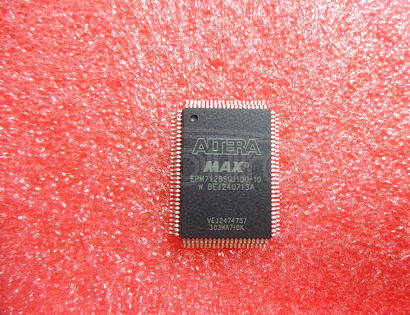 EPM7128SQI100-10 MAX 7000 Programmable Logic Device1.13 M