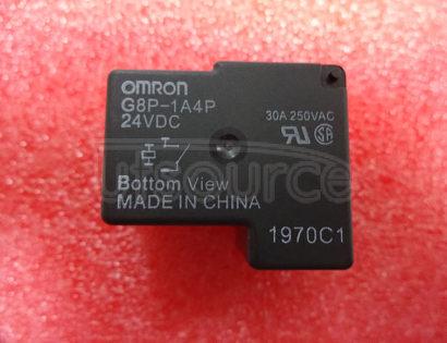G8P-1A4P-24VDC replac eG8P-1A4P-DC24V 24V 30A 4PINS