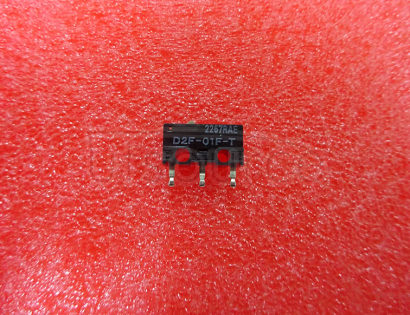 Mouse micro switch OMRON D2F-01F-T (Gold alloy contacts) 12.8*5.8*10mm 0.74N
