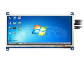 7inch HDMI LCD (B), 800×480, supports various systems