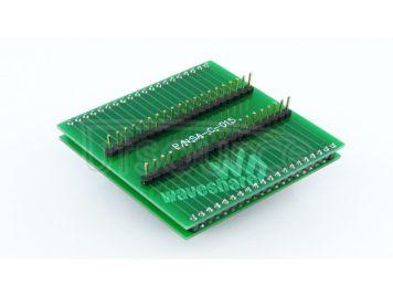 8051 QFP44 TO DIP40 Programming Adapter