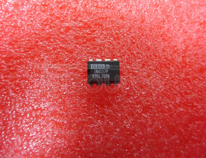 INA117P High Common-Mode Voltage Difference Amplifier 8-PDIP