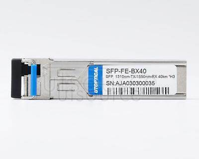 H3C SFP-FE-40-SM1310-BIDI Compatible SFP-FE-BX40 1310nm-TX/1550nm-RX 40km DOM Transceiver