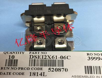 DSEI2X61-06C Rectifier Diodes, Ixys