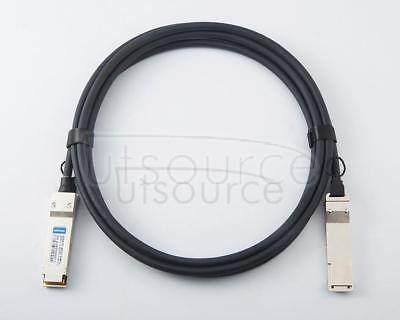 2m(6.56ft) Juniper Networks JNP-QSFP-DAC-2M Compatible 40G QSFP+ to QSFP+ Passive Direct Attach Copper Twinax Cable