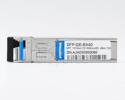 Cisco GLC-100BX40-U-I Compatible SFP-GE-BX40 1310nm-TX/1550nm-RX 40km DOM Transceiver