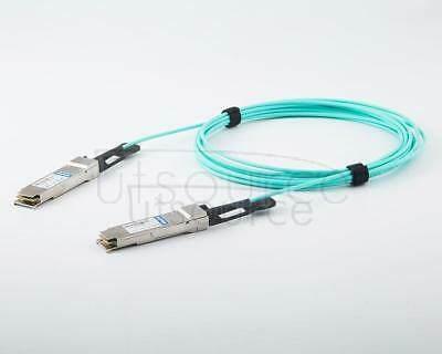 30m(98.43ft) Juniper Networks JNP-QSFP28-AOC-30M Compatible 100G QSFP28 to QSFP28 Active Optical Cable