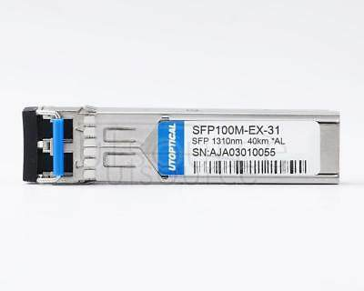 Alcatel-Lucent SFP-100-LC-SM40 Compatible SFP100M-EX-31 1310nm 40km DOM Transceiver