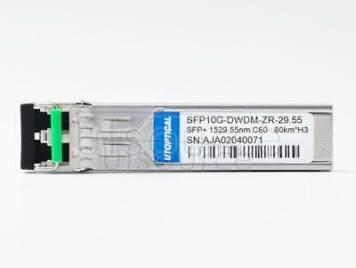 H3C DWDM-SFP10G-54.13-80 Compatible SFP10G-DWDM-ZR-54.13 1554.13nm 80km DOM Transceiver