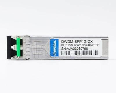 Brocade 1G-SFP-ZRD-1532.68 Compatible DWDM-SFP1G-ZX 1532.68nm 40km DOM Transceiver