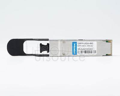 Brocade QSFP-40G-ER4 Compatible QSFP-ER4-40G 1310nm 40km DOM Transceiver Every transceiver is individually tested on a full range of Brocade equipment and passed the monitoring of Utoptical's intelligent quality control system.