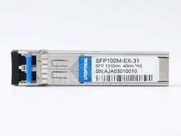 H3C SFP-FE-LH40-SM1310 Compatible SFP100M-EX-31 1310nm 40km DOM Transceiver