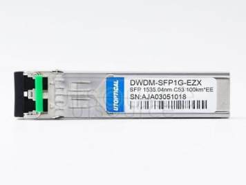 Extreme DWDM-SFP1G-35.04-100 Compatible DWDM-SFP1G-EZX 1535.04nm 100km DOM Transceiver