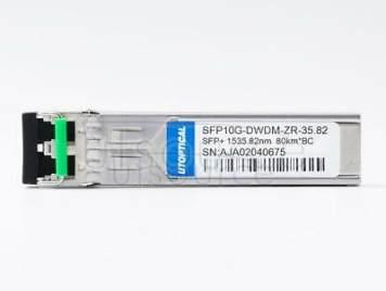Brocade 10G-SFPP-ZRD-1535.82 Compatible SFP10G-DWDM-ZR-35.82 1535.82nm 80km DOM Transceiver
