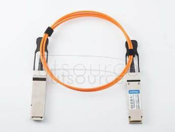 2m(6.56ft) Extreme Networks 40GB-F02-QSFP Compatible 40G QSFP+ to QSFP+ Active Optical Cable